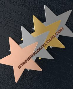 Star Ornament Stamping Blanks