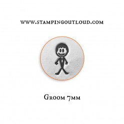 Groom Stick Family Metal Design Stamp