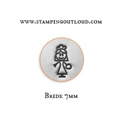 Bride Stick Family Metal Design Stamp