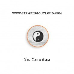 Yin Yang ImpressArt stamp
