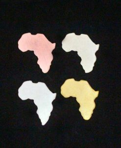 Africa Silhouette Necklace Blanks