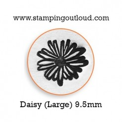 Large Daisy Metal Design Stamp