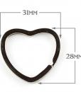 Heart Split Ring TN Size