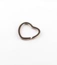Heart Split Ring TN2