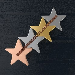 Small Star Shaped Stamping Blanks