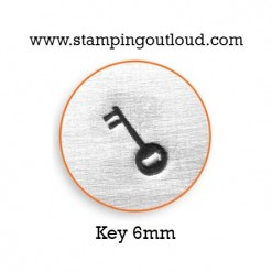 Key Metal Design Stamp