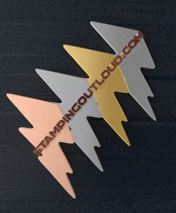 Lightning Bolt Shaped Stamping Blanks