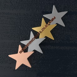 Thin Star Shaped Stamping Blanks