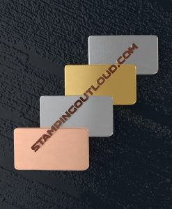 Rectangle Shaped Stamping Blanks