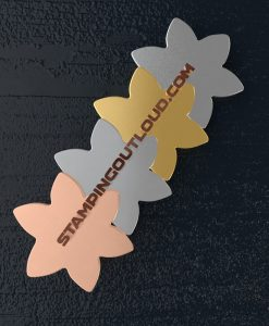 Star Flower Shaped Stamping Blanks
