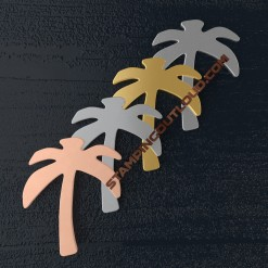 Palm Tree Shaped Stamping Blanks