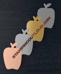 Apple Shaped Stamping Blanks