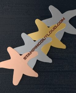 Starfish Shaped Stamping Blanks
