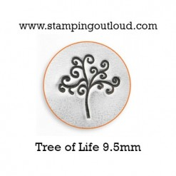 Tree of Life Metal Design Stamp