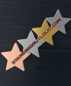Star Shaped Stamping Blanks