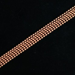 Solid copper ball chain necklaces in various lengths