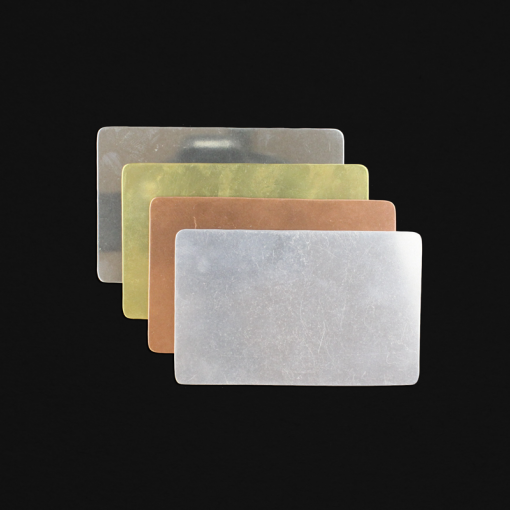 Credit Card Shaped Stamping Blanks