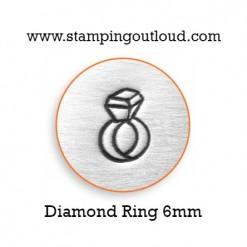 Diamond Ring Metal Design Stamp