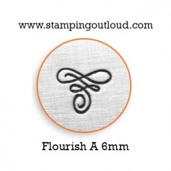 Flourish-A Metal Design Stamp