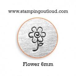 Flower Metal Design Stamp
