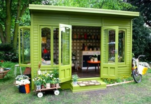 garden shed jewelry studio