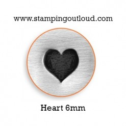 Heart Metal Design Stamp