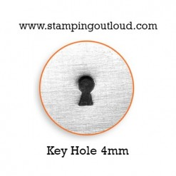 Keyhole Metal Design Stamp