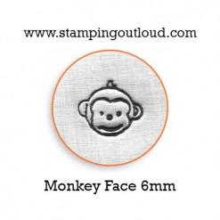 Monkey Face Metal Design Stamp