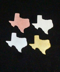Texas State Silhouette Necklace Blanks