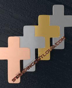 Cross Ornament Stamping Blanks