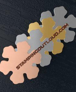 Snowflake Ornament Stamping Blanks