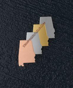 Alabama State Stamping Blank