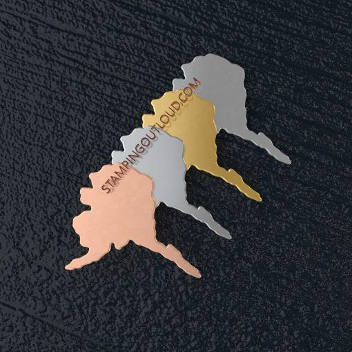Alaska State Stamping Blank