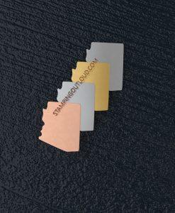 Arizona State Stamping Blank