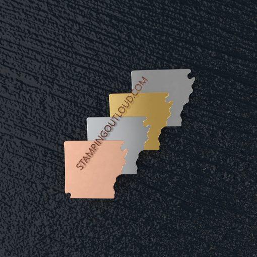 Arkansas State Stamping Blank