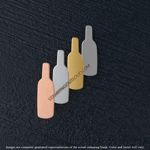 Bottle Shaped Stamping Blanks