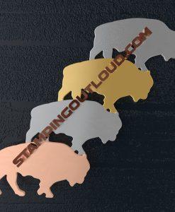 Buffalo Shaped Stamping Blanks