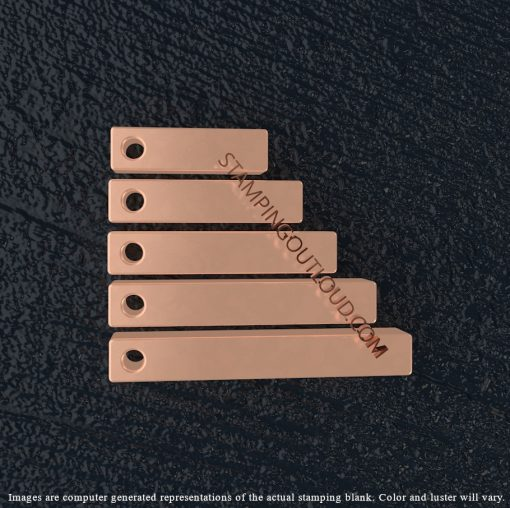 Square Copper Bar Stamping Blanks