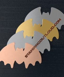 Creepy Bat Shaped Stamping Blanks