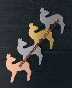 Deer Shaped Stamping Blanks