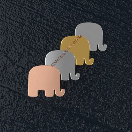 Elephant Stamping Blank