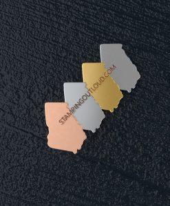 Georgia State Stamping Blank
