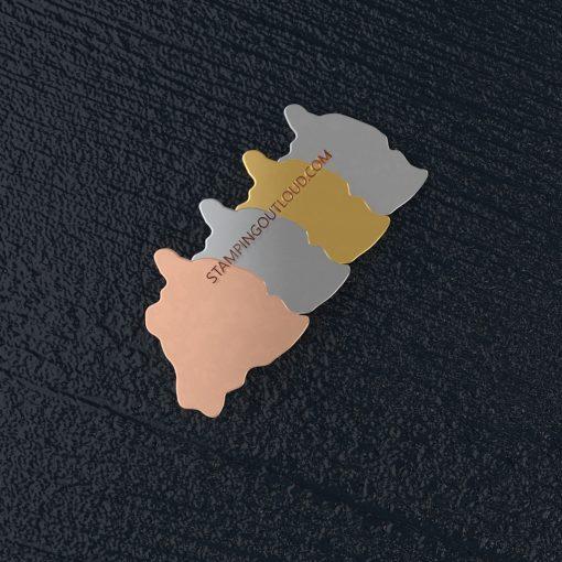 Hawaii State Stamping Blank