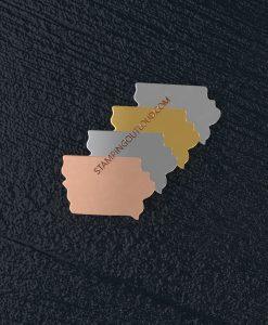 Iowa State Stamping Blank