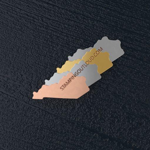 Kentucky State Stamping Blank