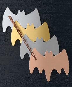 Large Bat shaped stamping blanks
