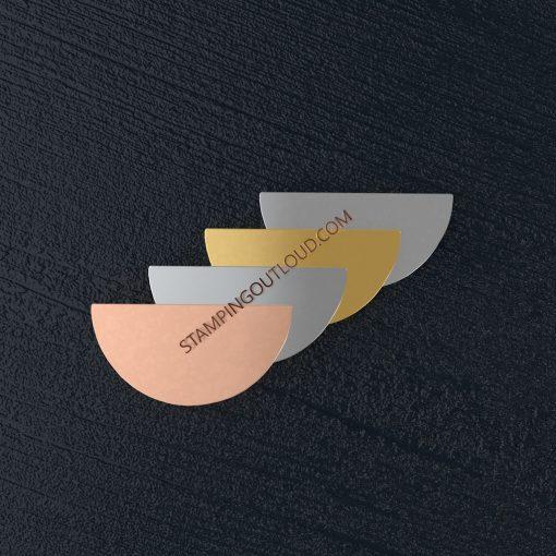 Semi Circle Stamping Blank