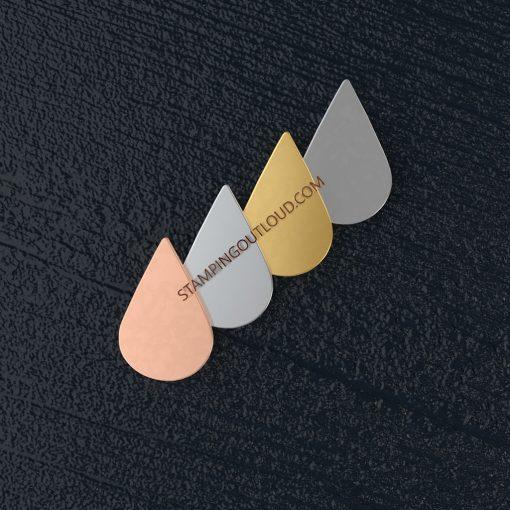 Teardrop (Large) Stamping Blank
