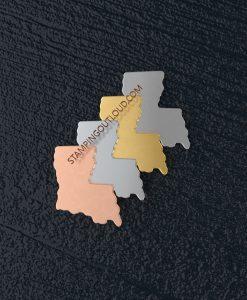 Louisiana State Stamping Blank