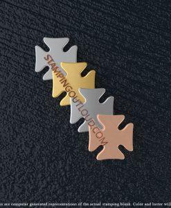 Maltese Cross Stamping Blanks